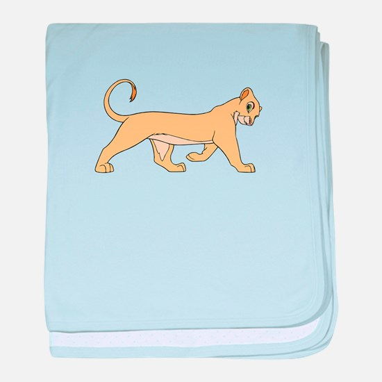 The Lion King lioness baby blanket