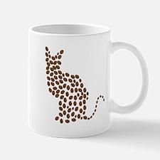 Coffee bean cat Mugs