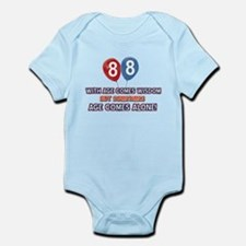 Funny 88 wisdom saying birthday Infant Bodysuit
