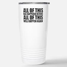 Unique Return Travel Mug