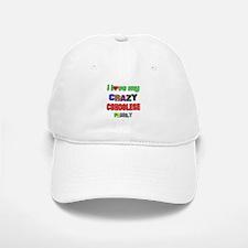 I love my crazy Congolese family Baseball Baseball Cap