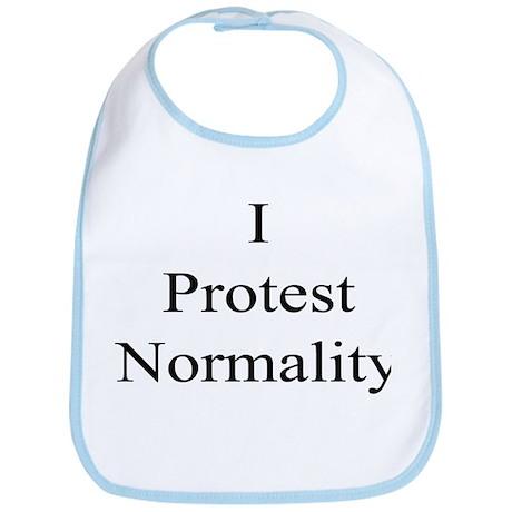 I protest Normality Bib