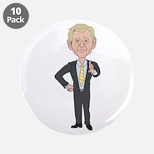 "President George w bush 3.5"" Button (10 pack)"
