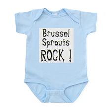 Brussel Sprouts Rock ! Infant Bodysuit