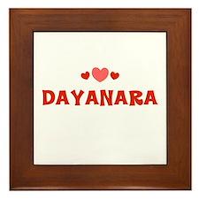 Dayanara Framed Tile