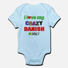 I love my crazy Danish family Onesie