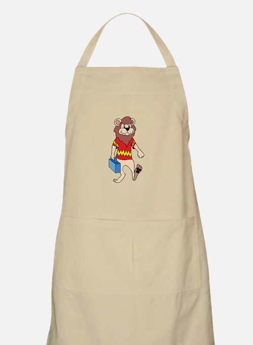 Lion with Lunchbox Apron