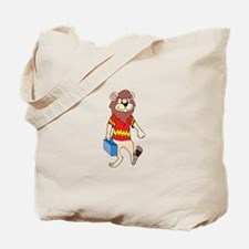 Lion with Lunchbox Tote Bag
