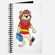 Lion with Lunchbox Journal