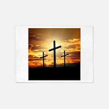 The Cross 5'x7'Area Rug