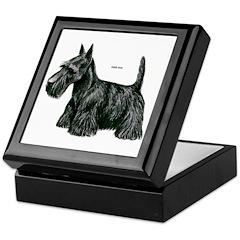 Scottish Terrier Dog Keepsake Box