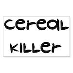 Cereal Killer Rectangle Sticker