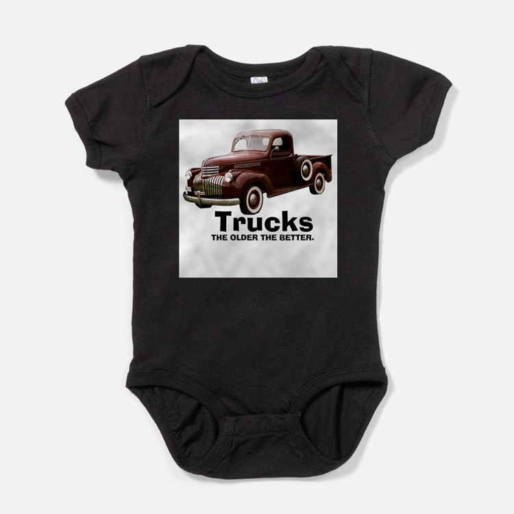 Cute Classic truck Baby Bodysuit