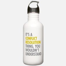 Conflict Resolution Th Water Bottle