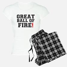 GREAT BALL OF FIRE! Pajamas