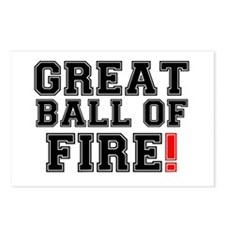 GREAT BALL OF FIRE! Postcards (Package of 8)