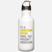 Corrections Officer Th Sports Water Bottle