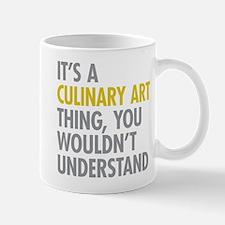 Culinary Art Thing Mugs