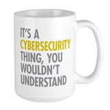 Cyber security Large Mugs (15 oz)