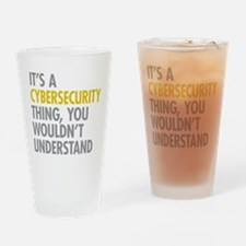 Cute Security Drinking Glass