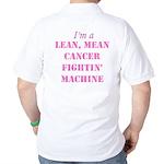 Cancer Fightin Golf Shirt