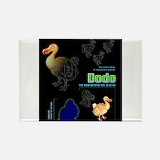 Beat Dodo Record 01 Rectangle Magnet