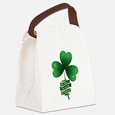 Holy Trinity Shamrock Canvas Lunch Bag