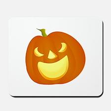 Halloween pumpkin smile Mousepad