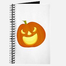 Halloween pumpkin smile Journal