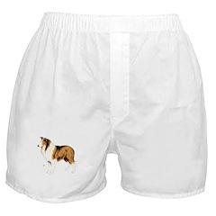 Collie Dog Boxer Shorts
