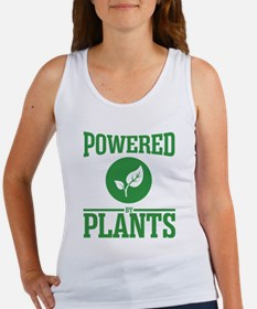 Powered by plants Tank Top