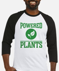 Powered by plants Baseball Jersey