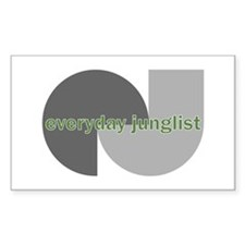 Everyday Junglist Rectangle Decal