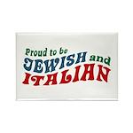 Jewish Italian Rectangle Magnet