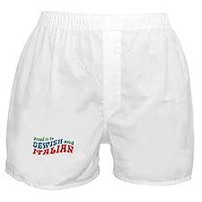 Jewish Italian Boxer Shorts