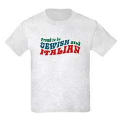 Jewish Italian Kids Light T-Shirt