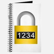 Combination lock Journal