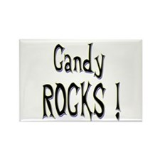 Candy Rocks ! Rectangle Magnet