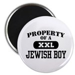 Property of a Jewish Boy Magnet