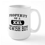 Property of a Jewish Boy Large Mug