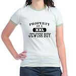 Property of a Jewish Boy Jr. Ringer T-Shirt