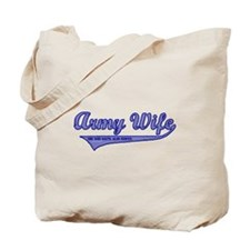 Army Wife - Athletic Tote Bag