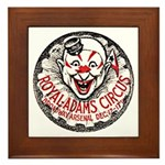 NYC, Circus Framed Tile