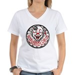 NYC, Circus Women's V-Neck T-Shirt