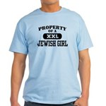 Property of a Jewish Girl Light T-Shirt