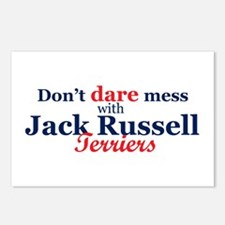Don't Dare Mess with JRTs! Postcards (Pkg. of 8)