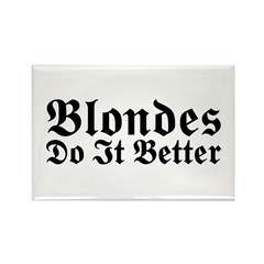 Redheads Do It Better Rectangle Magnet