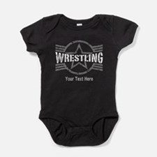 Wrestling Star Personalizable Baby Bodysuit