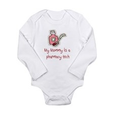 Cute Bear shower Long Sleeve Infant Bodysuit