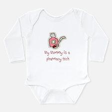 Cute Pharmacy rx. Long Sleeve Infant Bodysuit